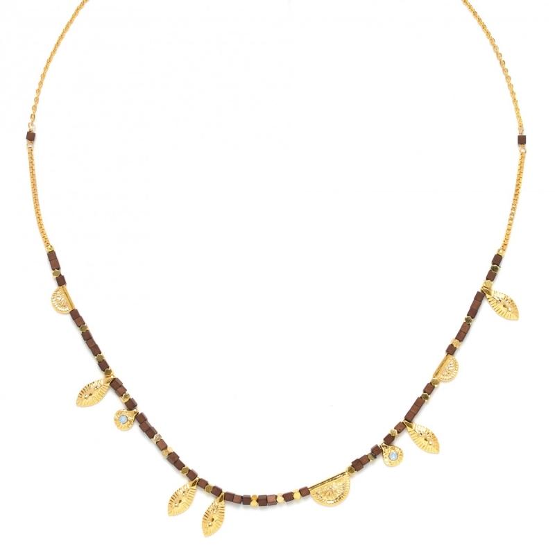 Adjustable gold necklace...