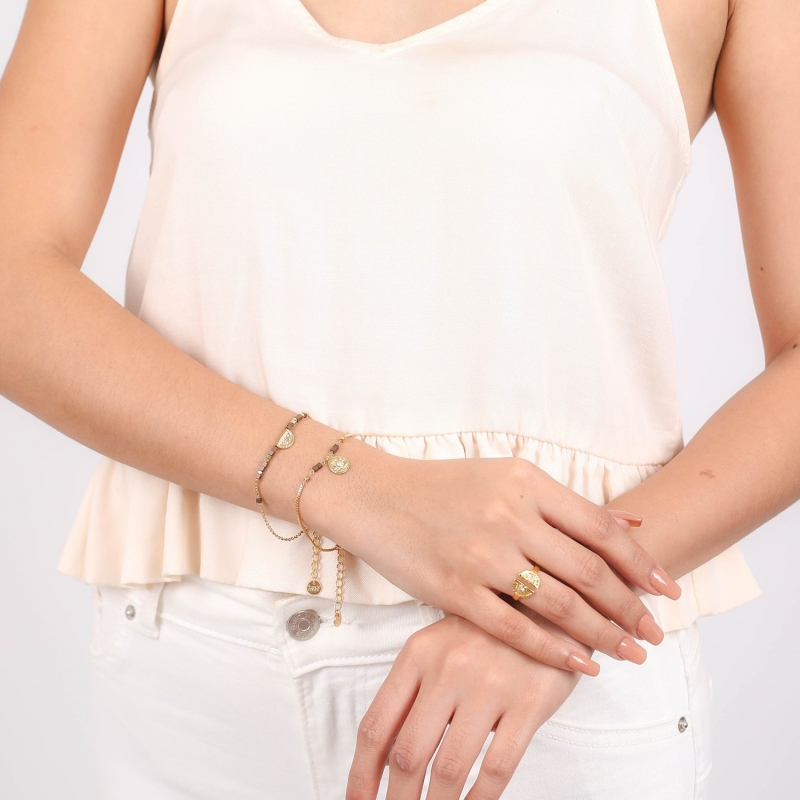 Bracelet Vanille ajustable...