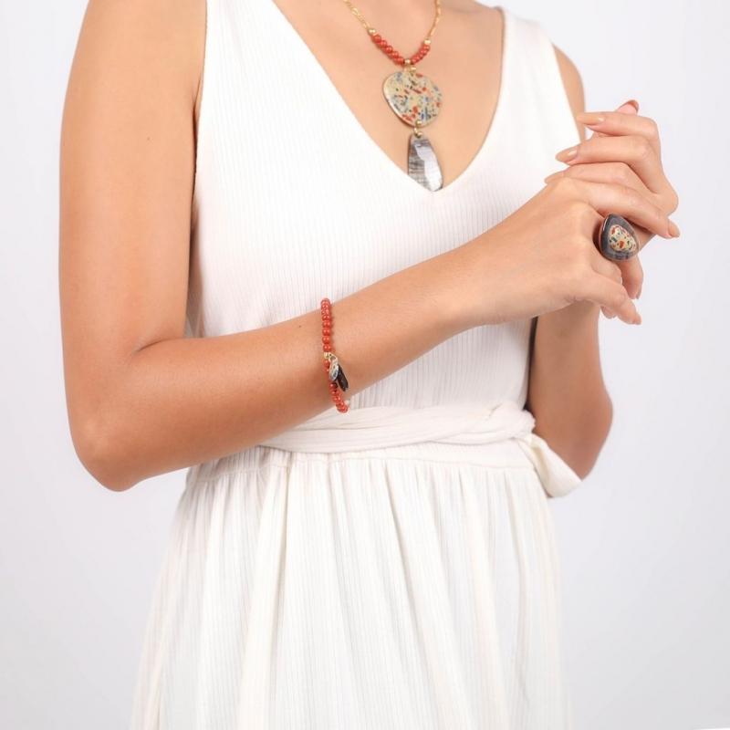 Gaudi stretch bracelet with...