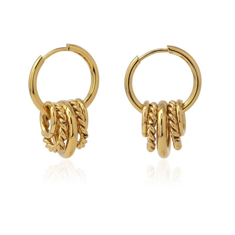 Multi hoop earrings - Anartxy