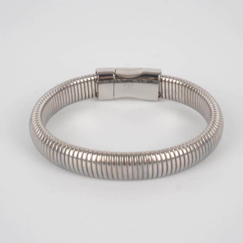 Ay steel bracelet - Zag...