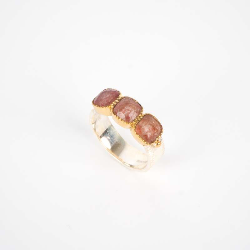 Silver Ring Strawberry Uma...