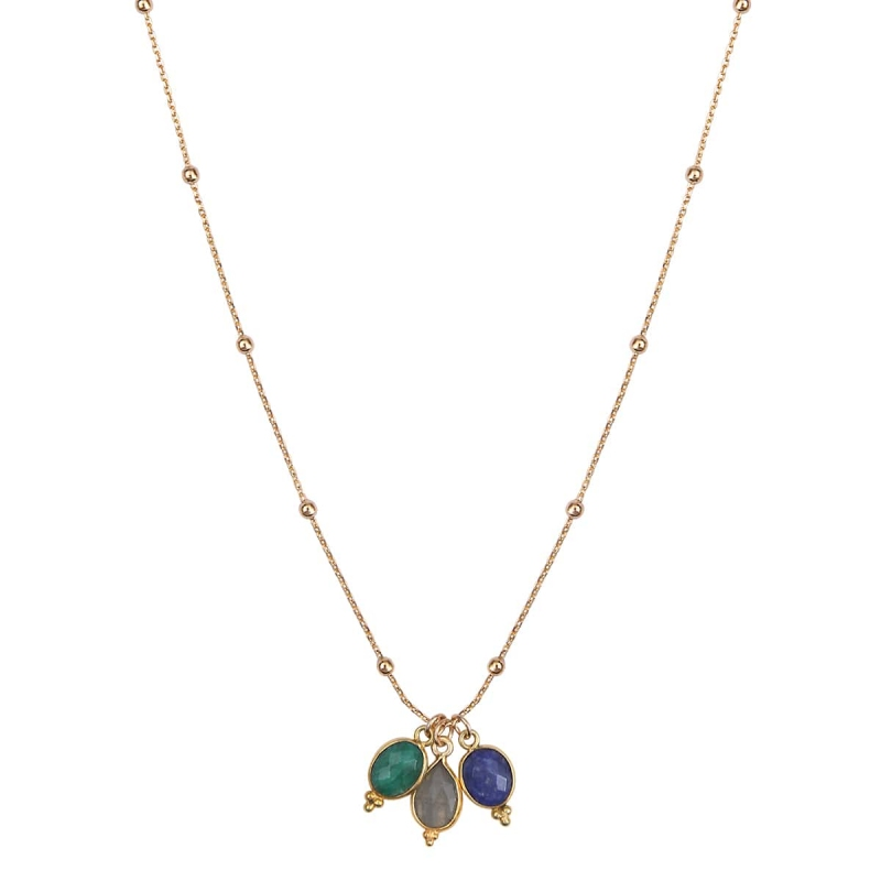 Collier India or - By164 Paris