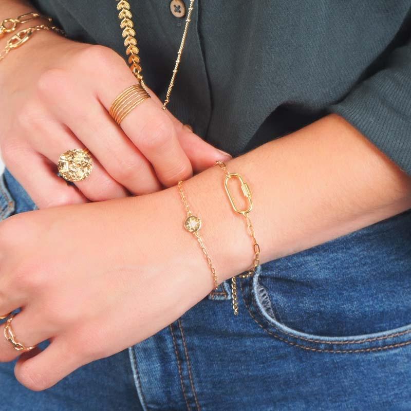 Bracelet Vanina or - By164...
